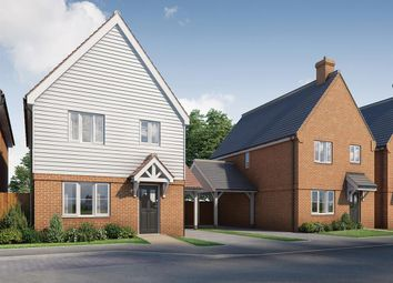 Thumbnail 3 bed detached house for sale in Singledge Lane, Whitfield, Dover, Kent