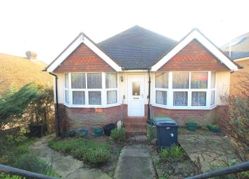 Thumbnail 2 bed detached bungalow for sale in Fairlight Avenue, Hastings