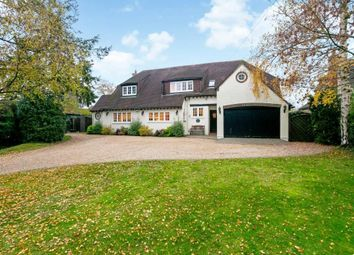 Thumbnail 5 bed detached house to rent in The Street, Crookham Village, Fleet, Hampshire