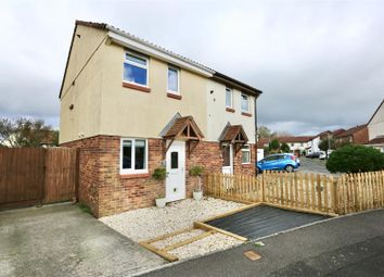 Thumbnail 2 bed semi-detached house for sale in Parsons Close, Plymstock, Plymouth