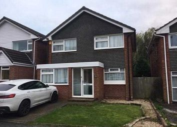 Thumbnail 3 bed detached house to rent in Redruth Close, Park Hall, Walsall