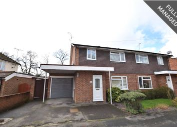 Thumbnail 3 bed semi-detached house to rent in Chillingham Way, Camberley, Surrey