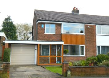 Thumbnail 3 bed semi-detached house for sale in Lea Gate Close, Bolton