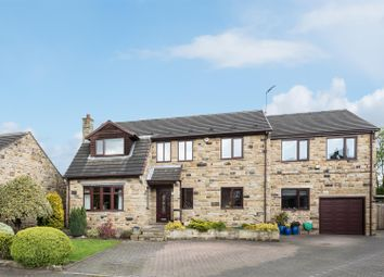 Thumbnail 5 bedroom detached house for sale in The Orchards, Methley, Leeds