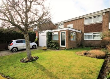 Thumbnail 4 bed detached house for sale in Dilston Close, Washington