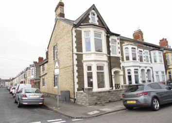 Thumbnail 3 bed end terrace house for sale in Alexandra Road, Canton, Cardiff