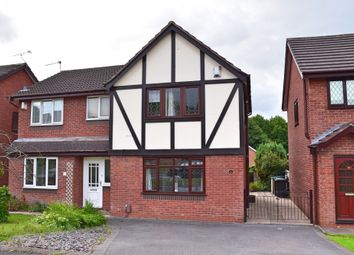 Thumbnail 3 bed semi-detached house for sale in Hemsby Way, Westbury Park, Newcastle-Under-Lyme