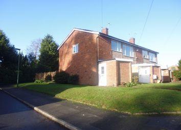 Thumbnail 2 bed maisonette to rent in Westeria Close, Castle Bromwich, Birmingham, West Midlands