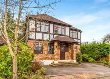 Thumbnail 4 bed detached house for sale in Hartsbourne Close, Bushey Heath, Hertfordshire