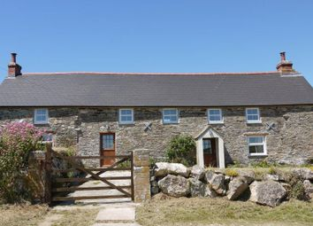 Thumbnail 4 bed detached house to rent in St Eval, Wadebridge