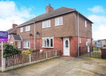 Thumbnail 3 bed semi-detached house for sale in Cross Street, Upton, Pontefract
