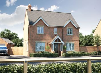 "Thumbnail 4 bed detached house for sale in ""The Arlington"" at Winchester Road, Boorley Green, Botley"
