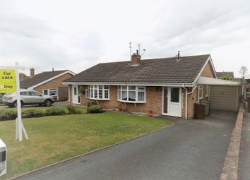 Thumbnail 2 bed semi-detached bungalow for sale in Knightley Close, Gnosall, Stafford
