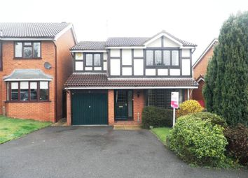 Thumbnail 4 bed detached house to rent in Helmdon Close, Rugby