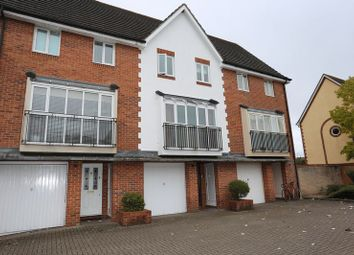 Thumbnail 4 bedroom town house for sale in Hartigan Place, Woodley, Reading