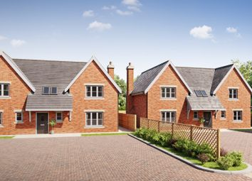 Thumbnail 4 bed detached house for sale in Egginton Road, Hilton, Derby