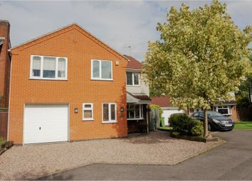 Thumbnail 4 bed detached house for sale in Hambleton Close, Leicester Forest East
