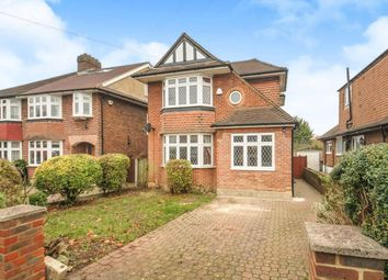 Thumbnail 4 bed detached house for sale in Amberley Gardens, Ewell, Epsom