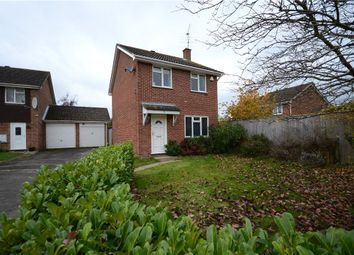 Thumbnail 3 bed detached house for sale in Keane Close, Woodley, Reading