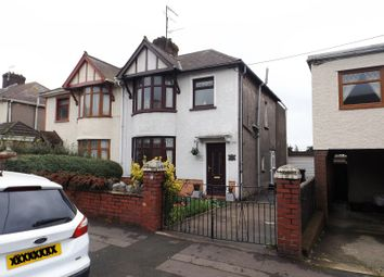 Thumbnail 3 bedroom semi-detached house for sale in Bertha Road, Port Talbot, Neath Port Talbot.