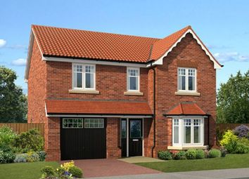 "Thumbnail 4 bed detached house for sale in ""The Tonbridge"" at Flaxley Road, Selby"