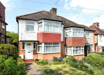 Thumbnail 3 bed semi-detached house for sale in Holyrood Road, New Barnet