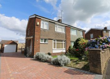 Thumbnail 3 bed semi-detached house for sale in Denbrook Way, Bradford