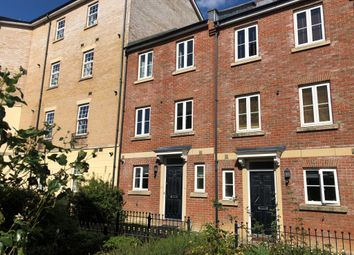 Thumbnail 3 bed town house for sale in Redhouse Gardens, Swindon