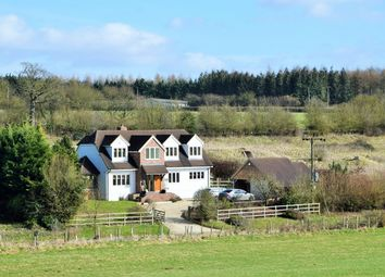 Thumbnail 4 bed country house for sale in Hill Drop Lane, Lambourn Woodlands