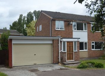 Thumbnail 3 bedroom semi-detached house to rent in Equity Road East, Earl Shilton, Leicester