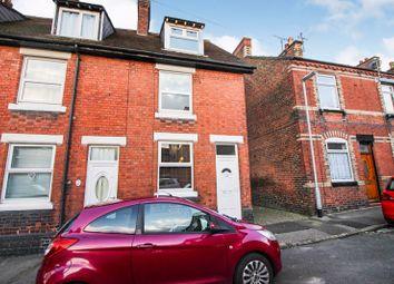 Thumbnail 4 bed end terrace house for sale in Shoobridge Street, Leek, Staffordshire