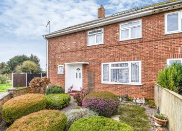 Thumbnail 3 bed semi-detached house for sale in Britton Close, Watlington, King's Lynn