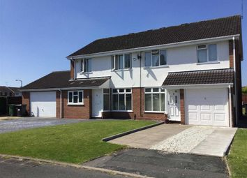 Thumbnail 3 bed semi-detached house for sale in Woodford Close, Pendeford, Wolverhampton