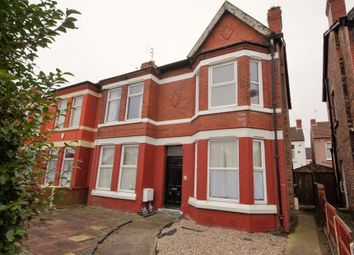 Thumbnail 2 bed flat for sale in Serpentine Road, Wallasey, Merseyside