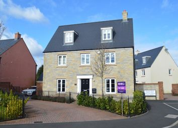 Thumbnail 5 bed detached house for sale in Merton Green, Caldicot