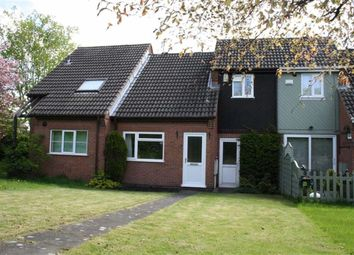 Thumbnail 2 bed town house for sale in Bluebell Close, Kirby Muxloe, Leicester