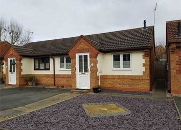 Thumbnail 1 bed semi-detached bungalow for sale in Beverley Road, Branston, Burton-On-Trent, Staffordshire