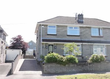 Thumbnail 3 bed semi-detached house for sale in Corporation Road, Loughor, Swansea