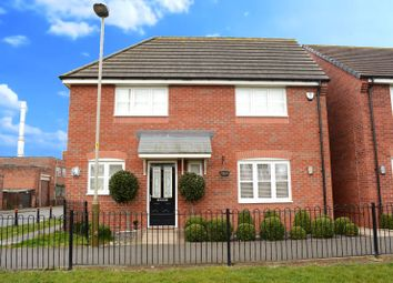 Thumbnail 4 bed detached house for sale in Dragonfly Walk, Aylestone, Leicester