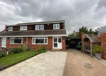 Thumbnail 3 bed semi-detached house for sale in Wilfreds Grove, Barlby, Selby