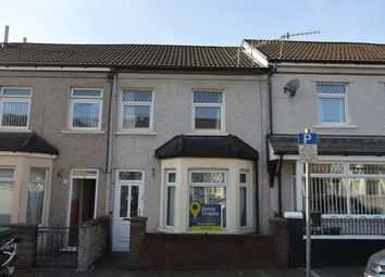 Thumbnail 4 bed terraced house for sale in Oxford Street, Treforest, Rct