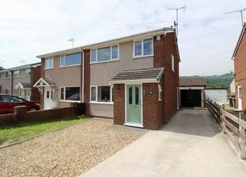 Thumbnail 3 bed semi-detached house for sale in Ffordd Offa, Cefn Mawr, Wrexham