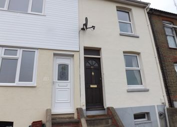 Thumbnail 3 bedroom end terrace house to rent in Constitution Road, Chatham