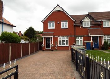 Thumbnail 3 bed end terrace house for sale in Croft Green, Bromborough, Wirral