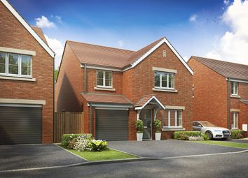 "Thumbnail 4 bed detached house for sale in ""The Roseberry "" at Brickburn Close, Hampton Centre, Peterborough"