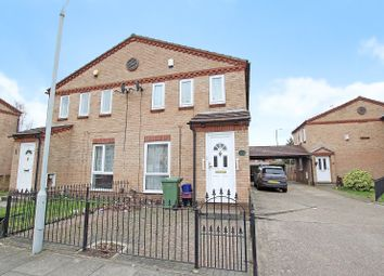Thumbnail 3 bed semi-detached house for sale in Courtland Grove, Thamesmead