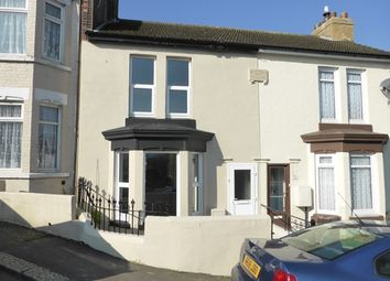 Thumbnail 2 bed terraced house for sale in Belgrave Road, Dover, Kent