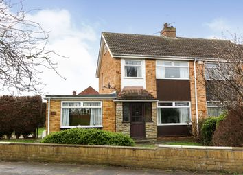 Thumbnail 4 bed semi-detached house for sale in Chichester Road, Cleethorpes