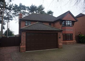 Thumbnail 4 bed detached house for sale in Finch Crescent, Mickleover, Derby