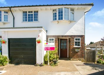 Thumbnail 3 bedroom end terrace house for sale in Pinewood Close, Seaford